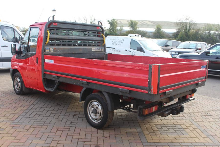 FORD TRANSIT 300 TDCI 110 SWB ALLOY DROPSIDE - 7031 - 7