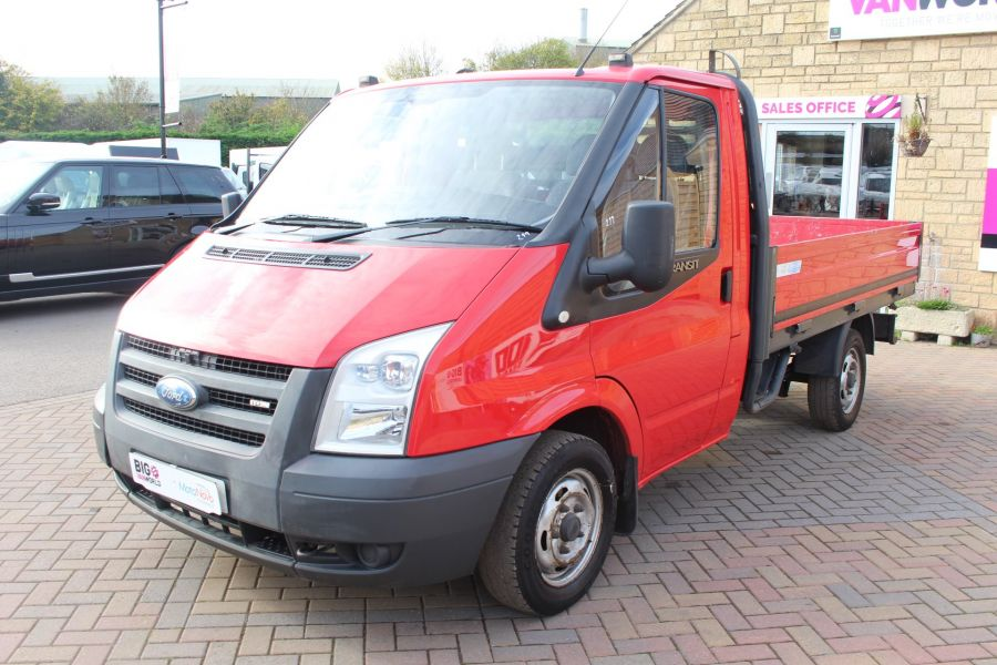 FORD TRANSIT 300 TDCI 110 SWB ALLOY DROPSIDE - 7031 - 8