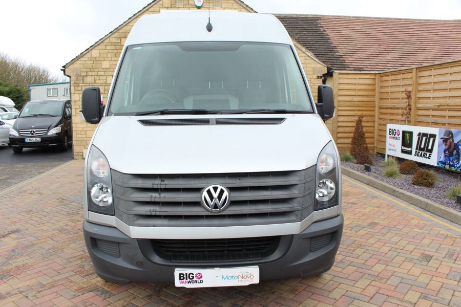 VOLKSWAGEN CRAFTER CR35 TDI 143 LWB HIGH ROOF - 7581 - 9