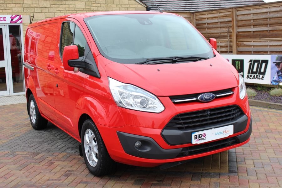FORD TRANSIT CUSTOM 290 TDCI 125 L1 H1 LIMITED SWB LOW ROOF FWD - 9268 - 3