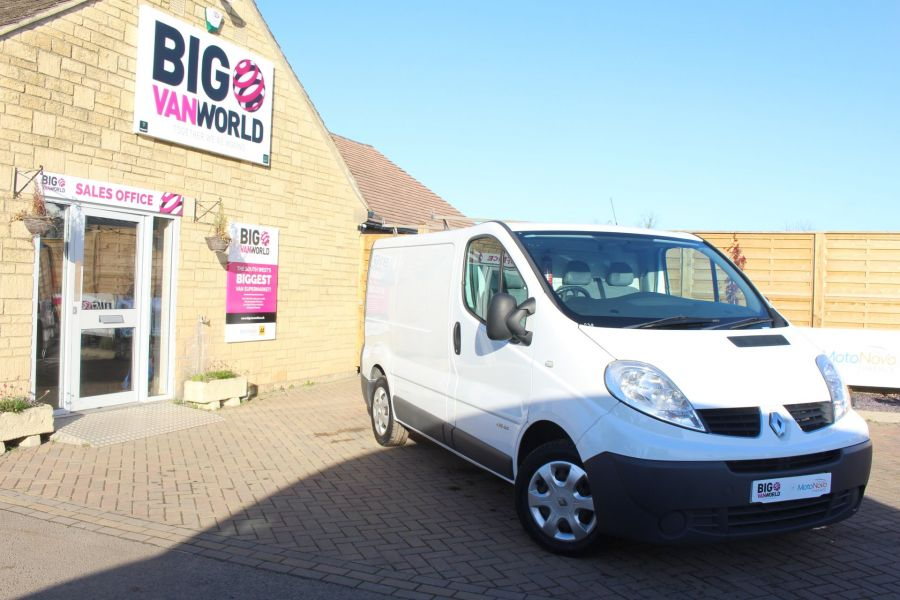 RENAULT TRAFIC SL27 DCI 115 L1 H1 SWB LOW ROOF - 7060 - 1