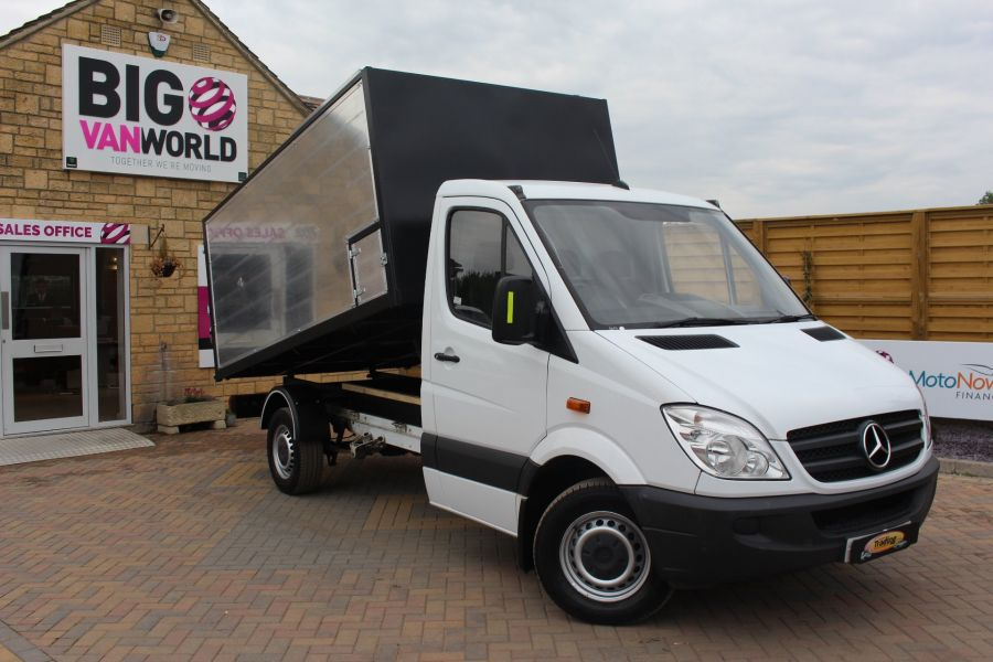 MERCEDES SPRINTER 313 CDI MWB NEW ALLOY ARBORIST TIPPER - 6031 - 1