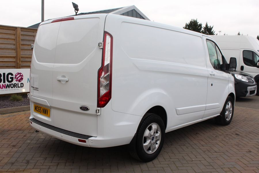 FORD TRANSIT CUSTOM 330 TDCI 125 L1 H1 LIMITED SWB LOW ROOF FWD - 9004 - 5