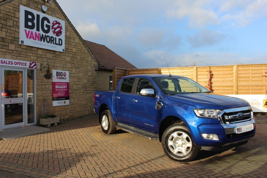FORD RANGER TDCI 200 LIMITED 4X4 DOUBLE CAB - 6993 - 1