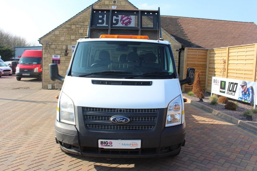 FORD TRANSIT 350 TDCI 155 LWB 6 SEAT DOUBLE CAB 'ONE STOP' ALLOY TIPPER DRW RWD - 7337 - 8