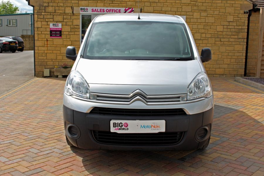 CITROEN BERLINGO 725 HDI 90 X L2 H1 5 SEAT CREW VAN SWB LOW ROOF - 9173 - 10