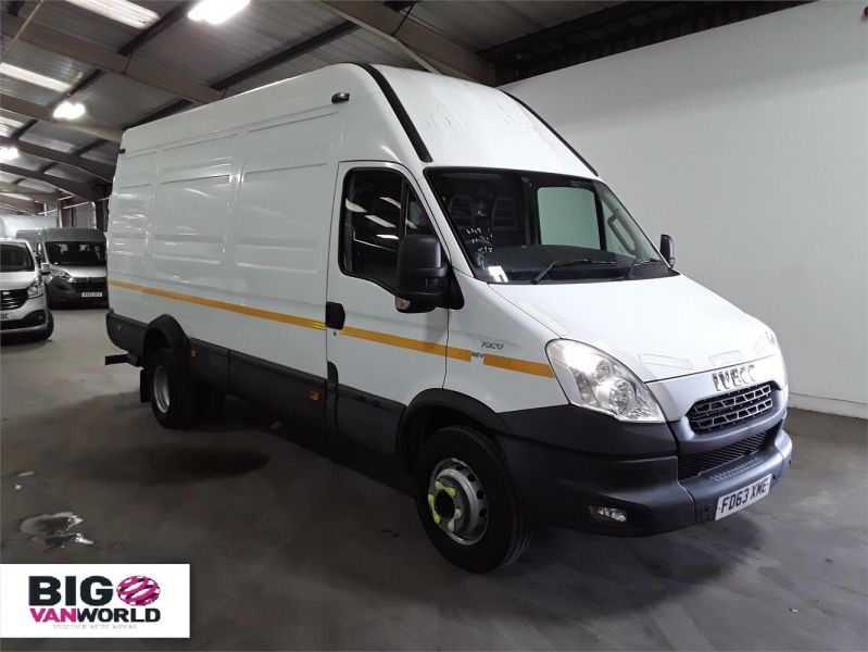 IVECO DAILY 70C17V 3.0 TD 170 LWB HIGH ROOF WITH TAIL LIFT  (14001) - 12250 - 1