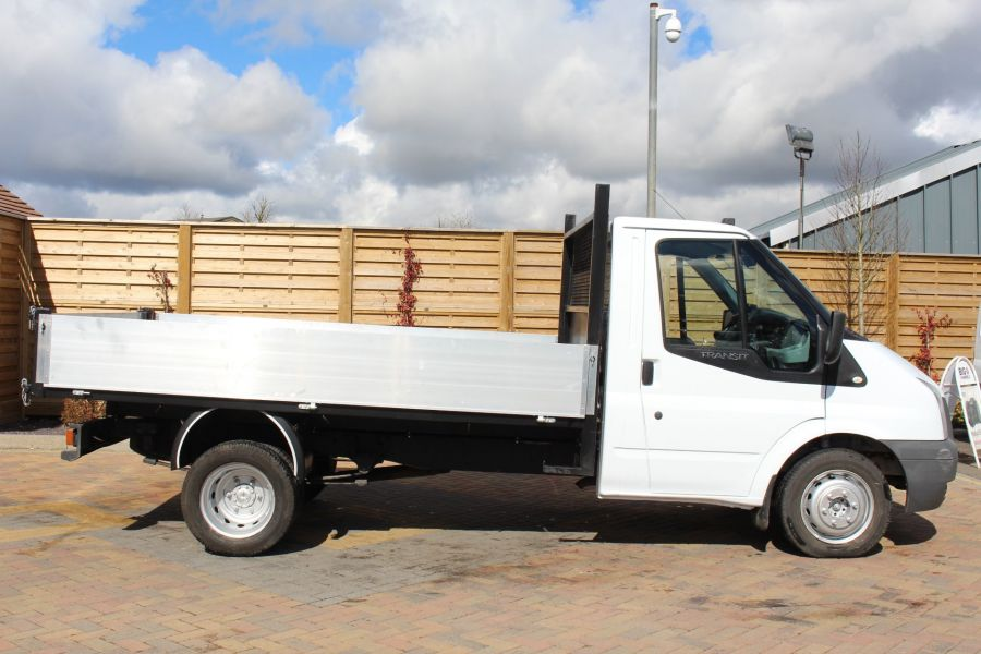 FORD TRANSIT 350 TDCI 100 MWB SINGLE CAB ALLOY TIPPER - 7589 - 11