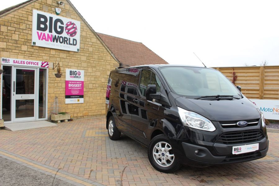 FORD TRANSIT CUSTOM 270 TDCI 155 L1 H1 LIMITED SWB LOW ROOF FWD - 7564 - 2