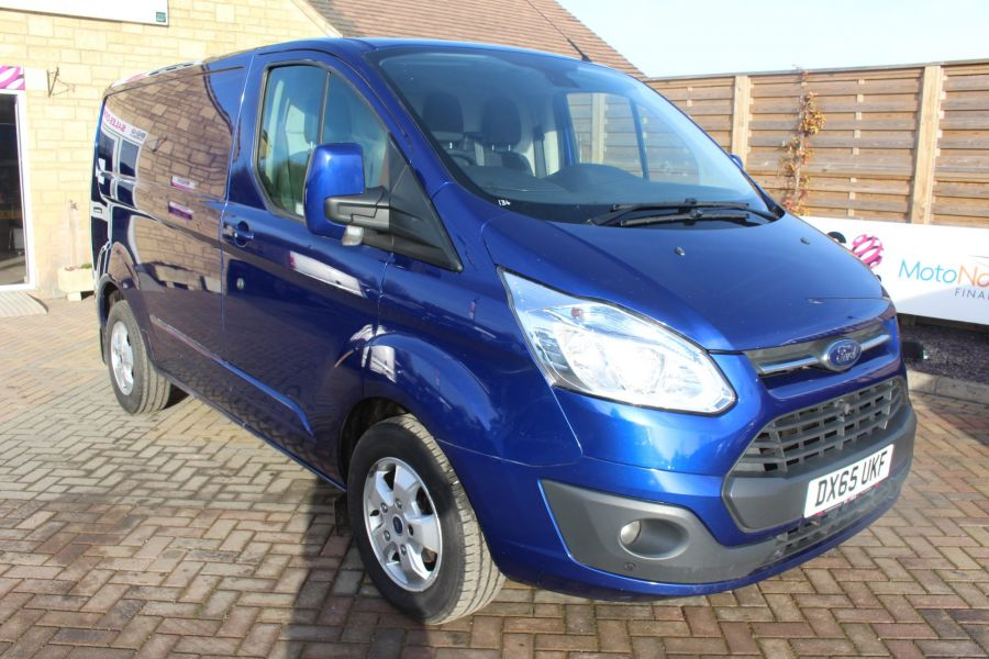 FORD TRANSIT CUSTOM 290 TDCI 155 L1 H1 LIMITED SWB LOW ROOF - 8952 - 1