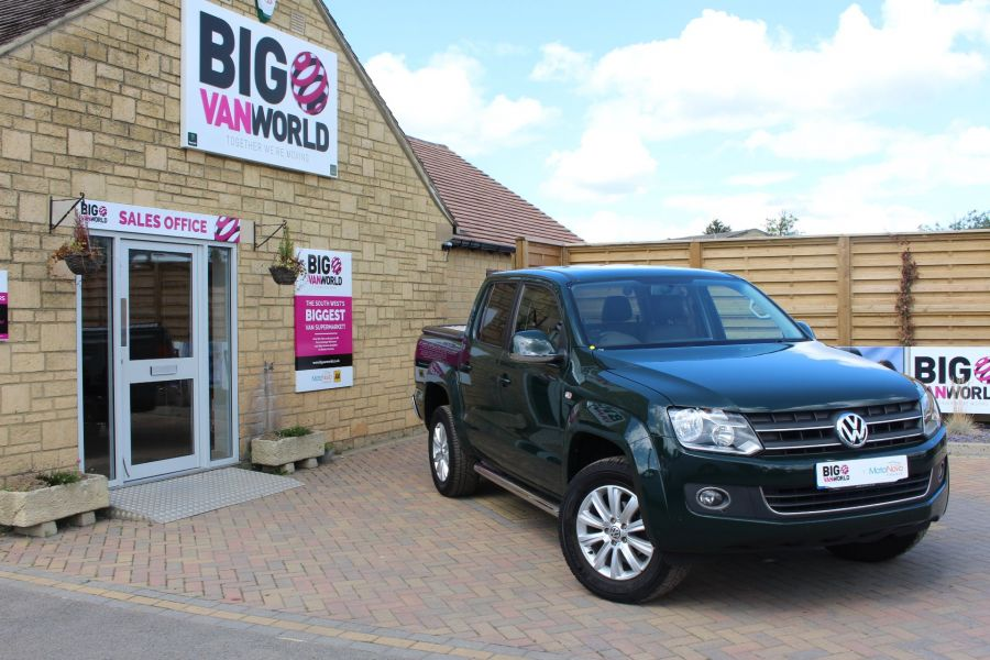 VOLKSWAGEN AMAROK A32 TDI 180 HIGHLINE 4MOTION DOUBLE CAB - 6513 - 1