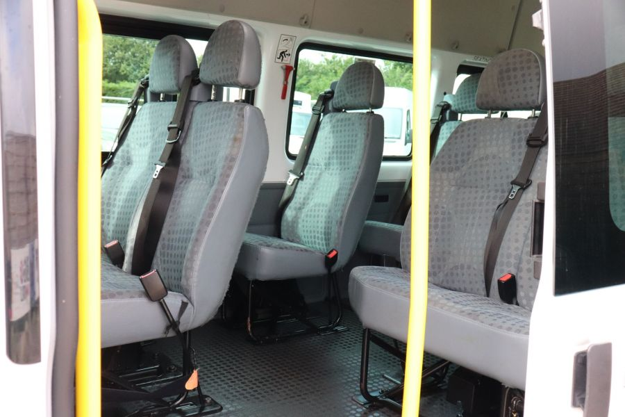 FORD TRANSIT 430 TDCI 135 EL LWB 17 SEAT BUS WITH WHEELCHAIR ACCESS HIGH ROOF DRW RWD - 9665 - 32