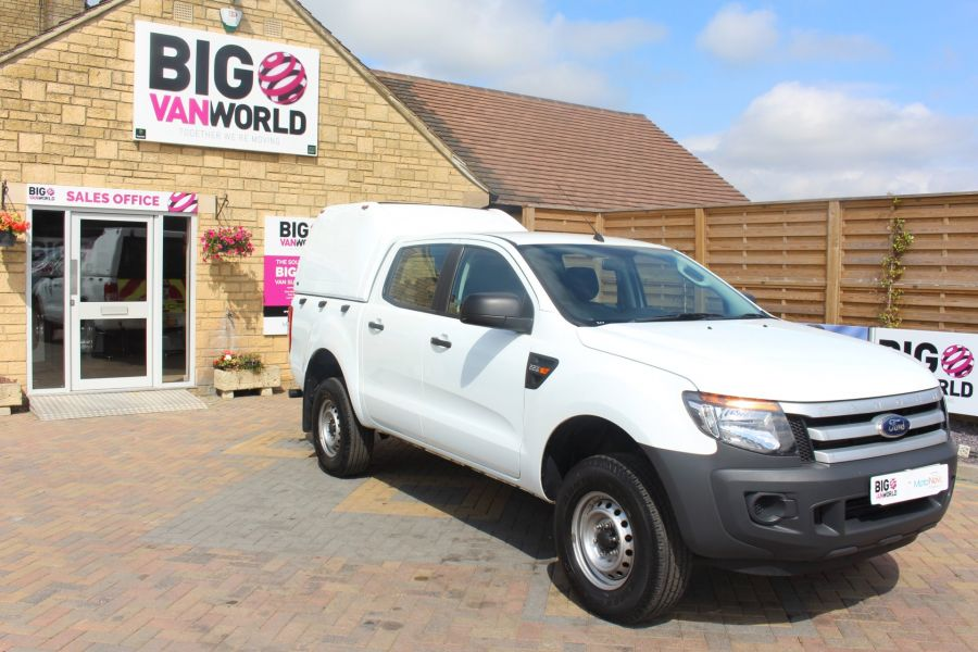 FORD RANGER TDCI 130 XL 4X4 DOUBLE CAB WITH TRUCKMAN TOP - 8119 - 3