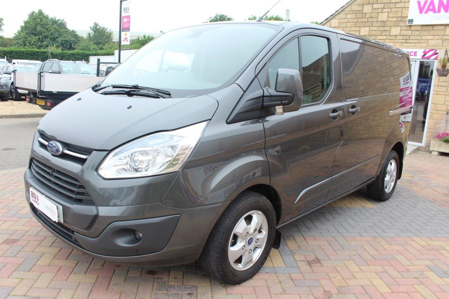 FORD TRANSIT CUSTOM 270 TDCI 125 L1 H1 LIMITED SWB LOW ROOF FWD - 7818 - 8