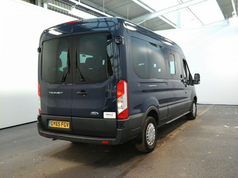 FORD TRANSIT 410 TDCI 125 L3 H2 TREND 15 SEAT BUS LWB MEDIUM ROOF RWD - 8605 - 2