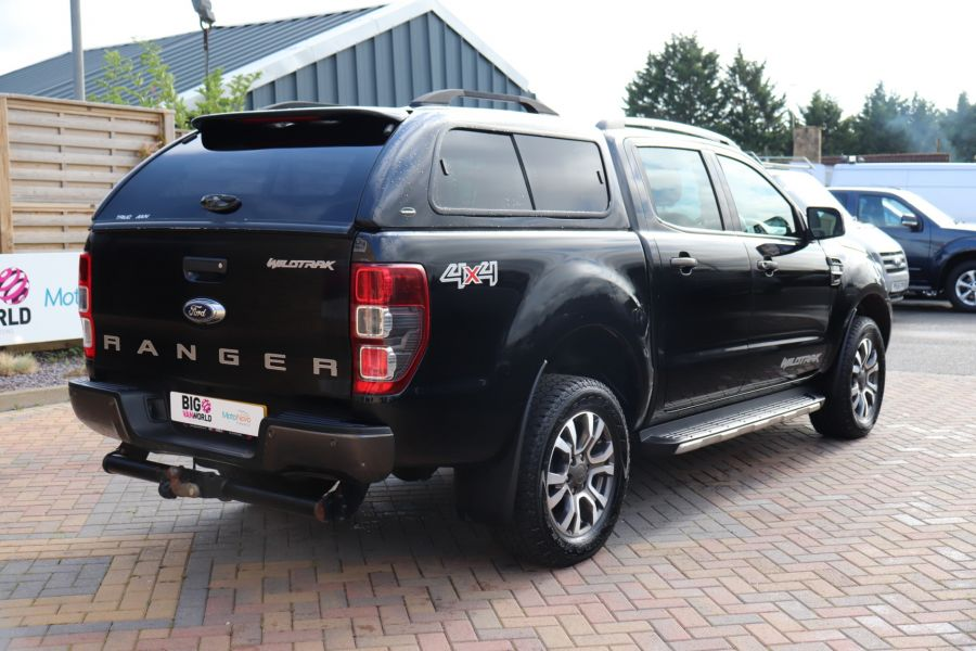 FORD RANGER WILDTRAK TDCI 200 4X4 DOUBLE CAB WITH TRUCKMAN TOP - 9555 - 5