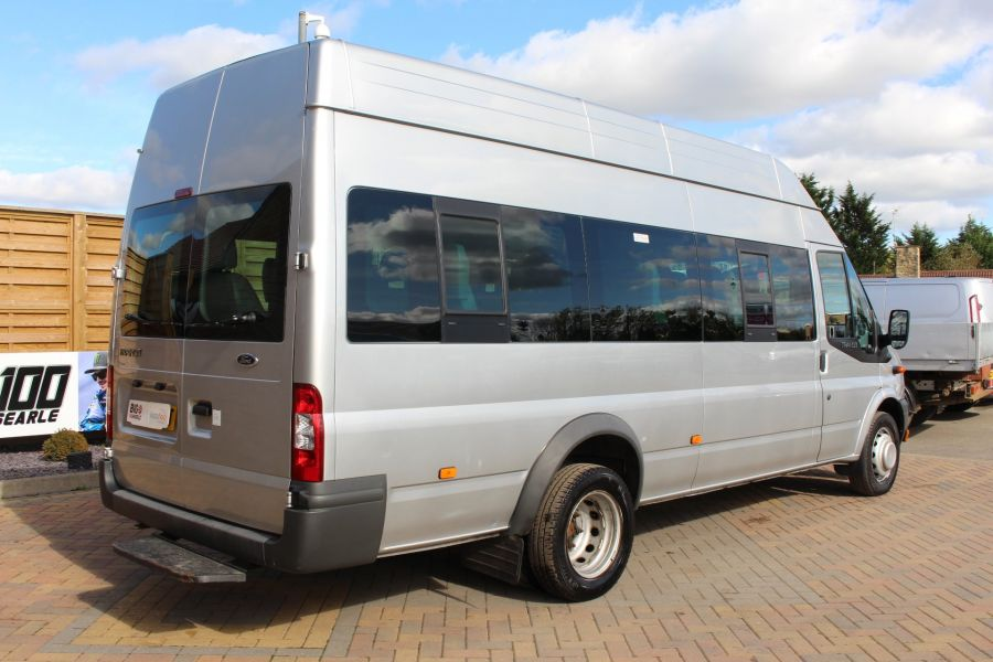 FORD TRANSIT 430 TDCI 135 LWB EL HIGH ROOF 17 SEATS BUS RWD - 6765 - 5