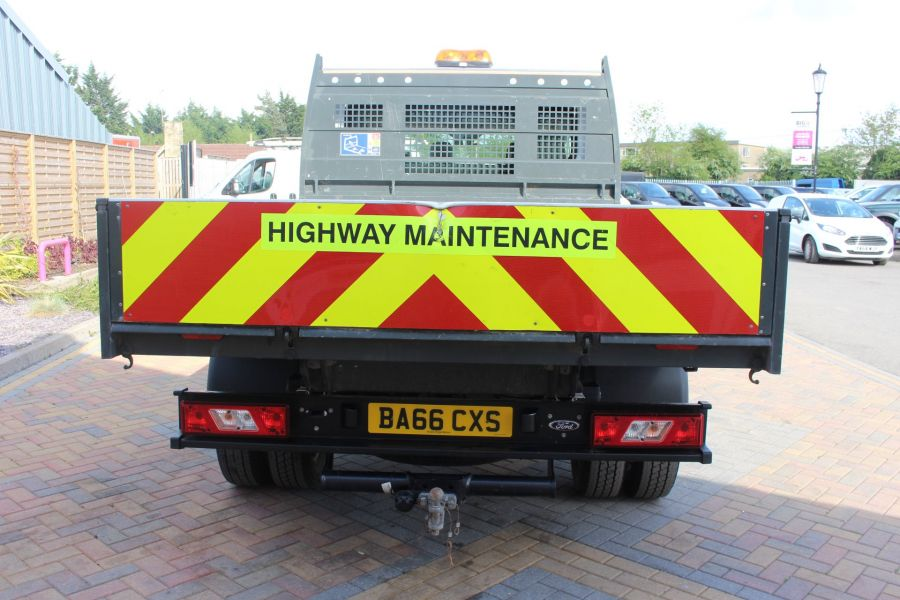 FORD TRANSIT 350 TDCI 130 L3 LWB 7 SEAT DOUBLE CAB 'ONE STOP' ALLOY TIPPER DRW RWD - 7634 - 14