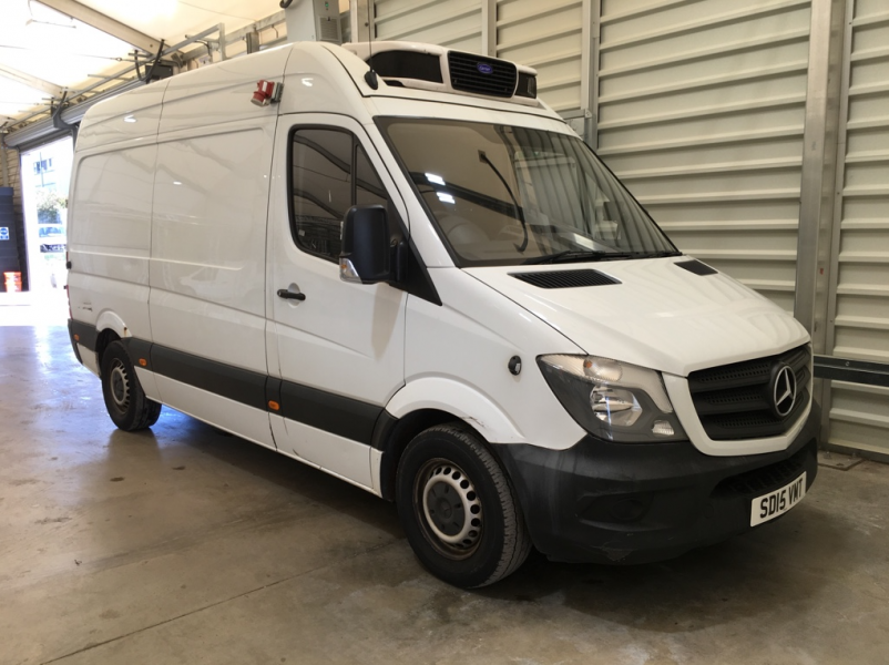 MERCEDES SPRINTER 313 CDI 129 MWB HIGH ROOF FRIDGE/FREEZER VAN WITH OVERNIGHT - 11409 - 1