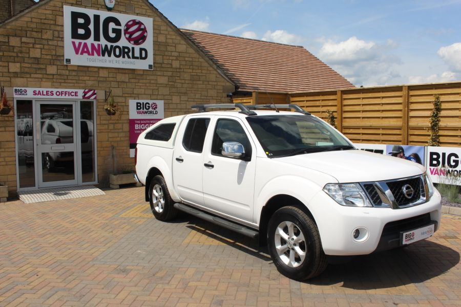 NISSAN NAVARA DCI 190 TEKNA CONNECT 4X4 DOUBLE CAB WITH SPORT TRUCKMAN TOP - 6295 - 2