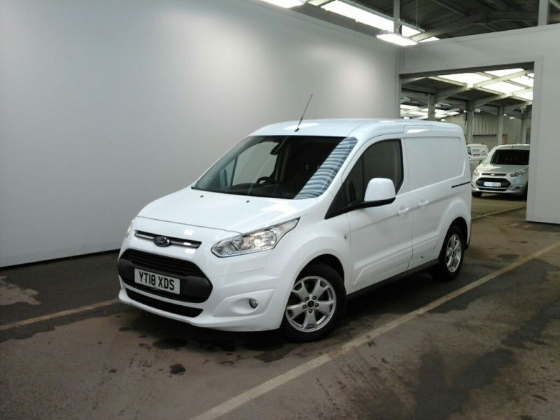 FORD TRANSIT CONNECT 200 TDCI 120 L1H1 LIMITED SWB LOW ROOF - 10606 - 1