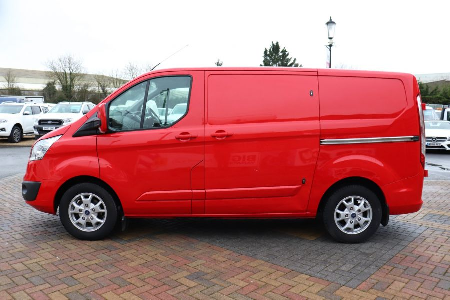 FORD TRANSIT CUSTOM 290 TDCI 125 L1H1 LIMITED SWB LOW ROOF FWD - 11904 - 11