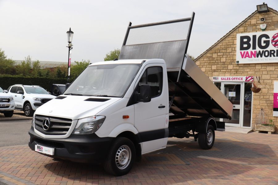 MERCEDES SPRINTER 313 CDI 129 MWB SINGLE CAB NEW BUILD ALLOY TIPPER - 10678 - 9