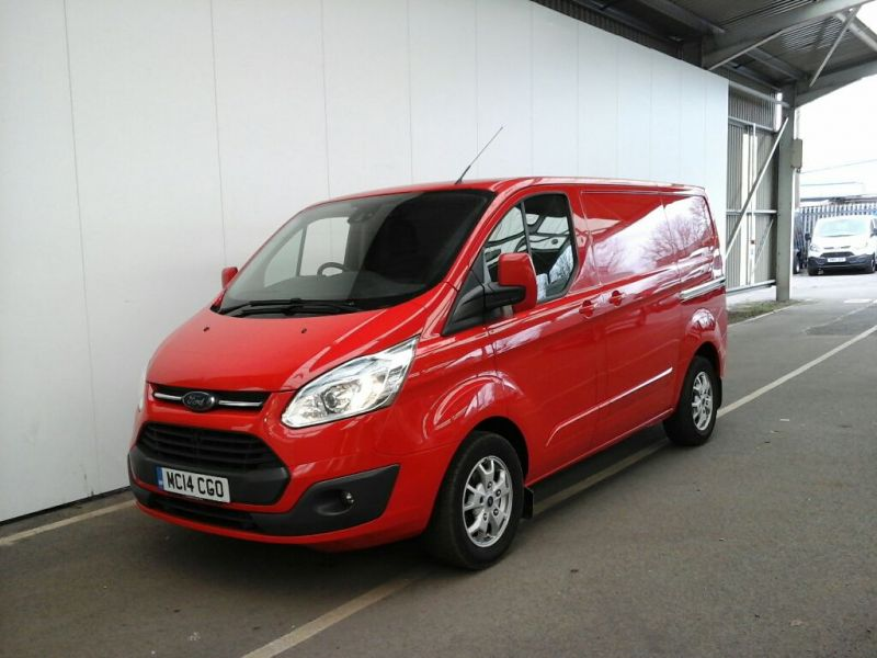 FORD TRANSIT CUSTOM 290 TDCI 125 L1 H1 LIMITED SWB LOW ROOF FWD - 8846 - 1