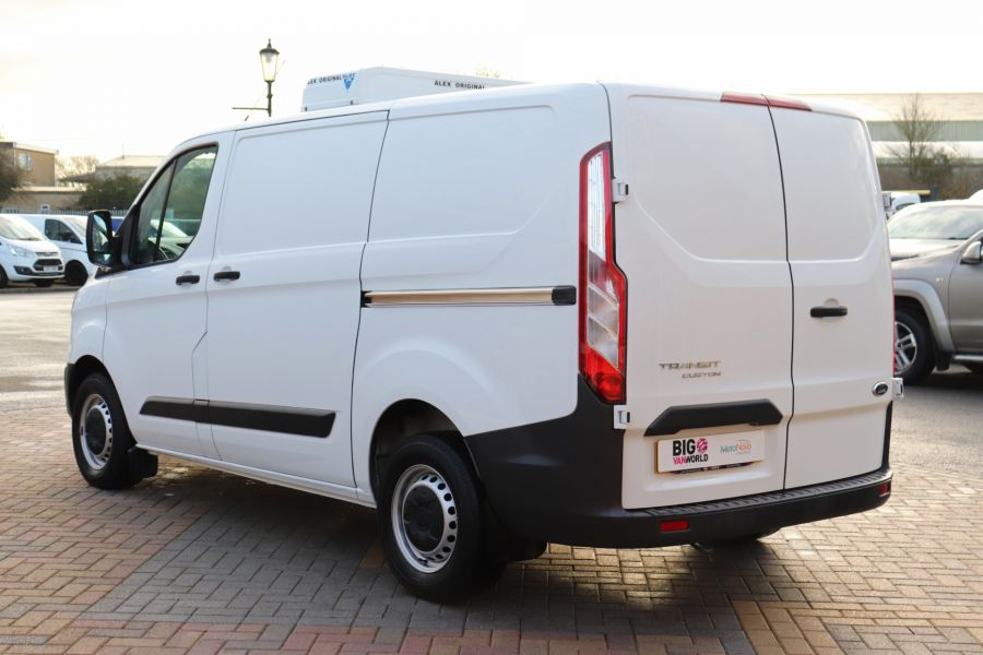 FORD TRANSIT CUSTOM 270 TDCI 105 L1H1 SWB LOW ROOF FRIDGE VAN WITH OVERNIGHT FWD - 11587 - 10