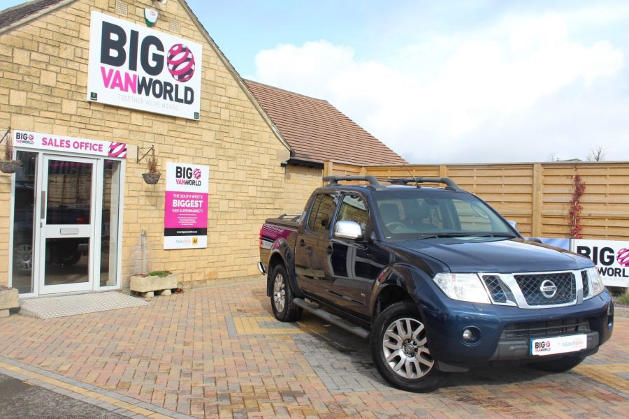 NISSAN NAVARA OUTLAW DCI 231 4X4 DOUBLE CAB WITH MOUNTAIN TOP - 7465 - 1