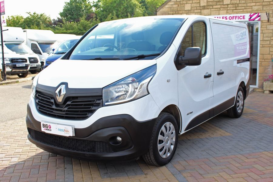 RENAULT TRAFIC SL27 DCI 120 BUSINESS ENERGY SWB LOW ROOF - 8861 - 9