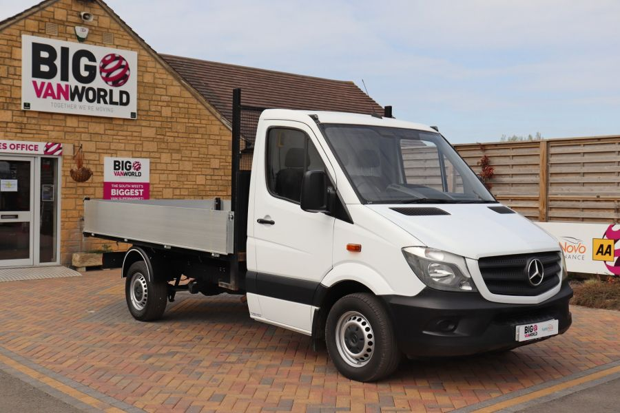 MERCEDES SPRINTER 313 CDI 129 MWB SINGLE CAB NEW BUILD ALLOY TIPPER - 11018 - 4