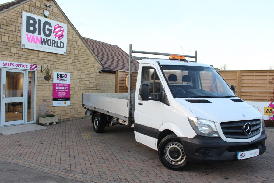 MERCEDES SPRINTER 313 CDI LWB ALLOY DROPSIDE - 6901 - 1