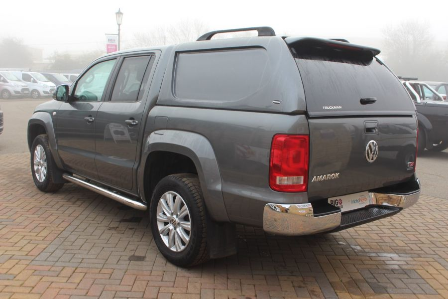 VOLKSWAGEN AMAROK TDI 180 HIGHLINE 4MOTION DOUBLE CAB WITH TRUCKMAN TOP AUTO - 6906 - 7