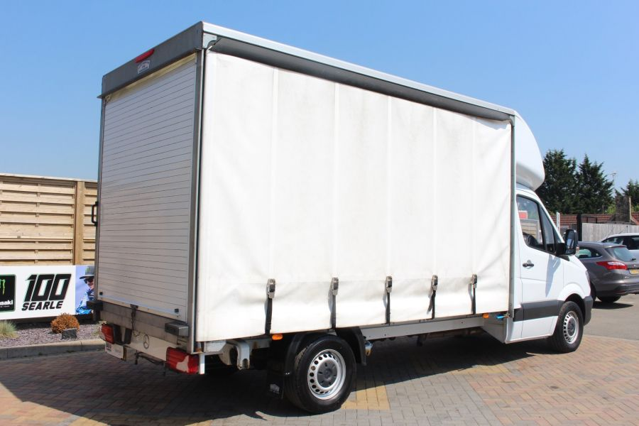 MERCEDES SPRINTER 314 CDI 140 CURTAINSIDER - 7665 - 5