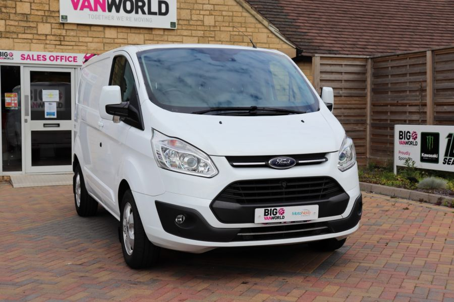 FORD TRANSIT CUSTOM 310 TDCI 130 L1H1 LIMITED SWB LOW ROOF - 10921 - 4