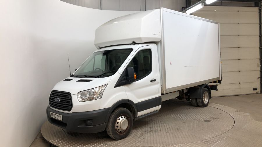 FORD TRANSIT 350 TDCI 125 L3 LWB 'ONE STOP' LUTON WITH TAIL LIFT DRW RWD - 11563 - 1