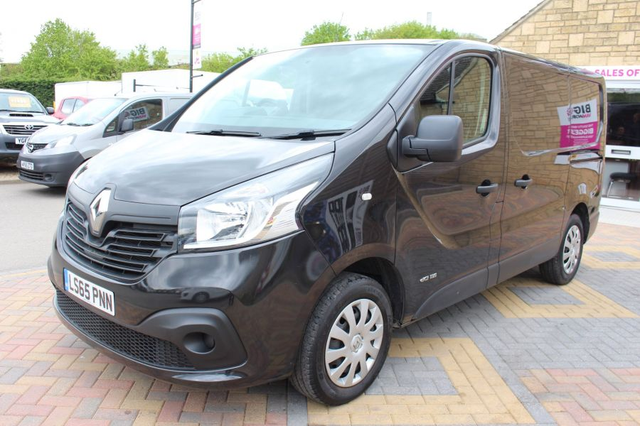 RENAULT TRAFIC SL27 DCI 115 BUSINESS PLUS SWB LOW ROOF - 9213 - 8