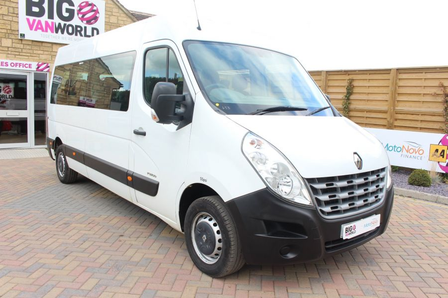 RENAULT MASTER LM39 DCI 125 COACH BUILT 17 SEAT BUS LWB MEDIUM ROOF - 5842 - 3