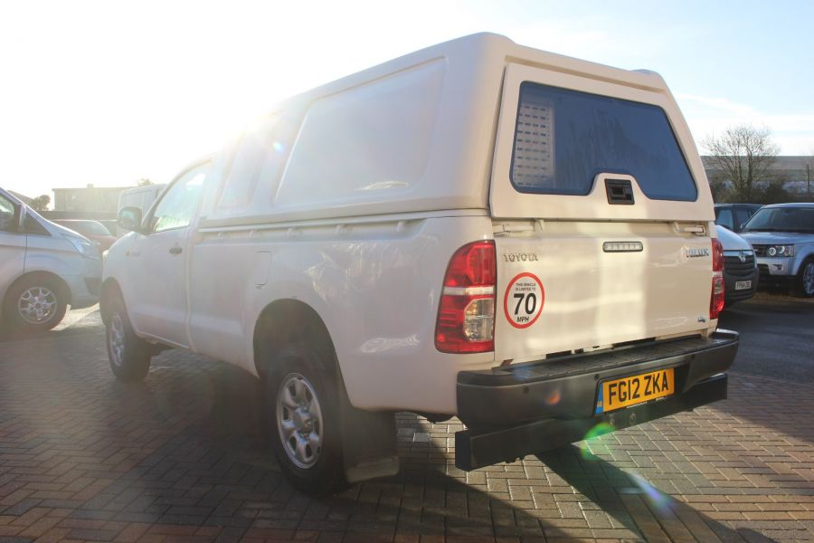 TOYOTA HI-LUX HL2 144 4X4 D-4D SINGLE CAB WITH TRUCKMAN TOP - 6962 - 7