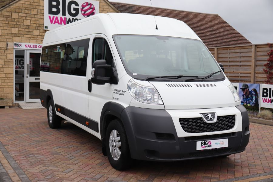 PEUGEOT BOXER 440 HDI 130 L4H2 17 SEAT BUS HIGH ROOF WITH WHEELCHAIR ACCESS - 9625 - 3