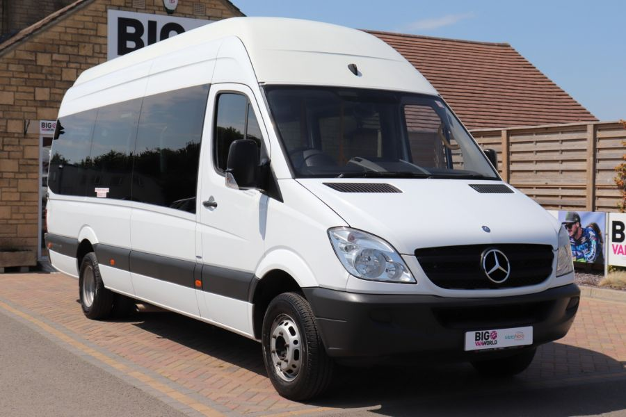 MERCEDES SPRINTER 513 CDI 129 XLWB EXTRA HIGH ROOF 15 SEAT BUS WITH WHEELCHAIR ACCESS - 9801 - 4