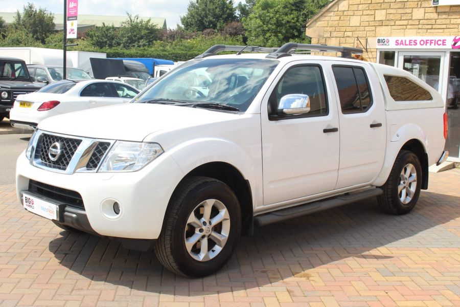 NISSAN NAVARA DCI 190 TEKNA CONNECT 4X4 DOUBLE CAB WITH SPORT TRUCKMAN TOP - 6296 - 8