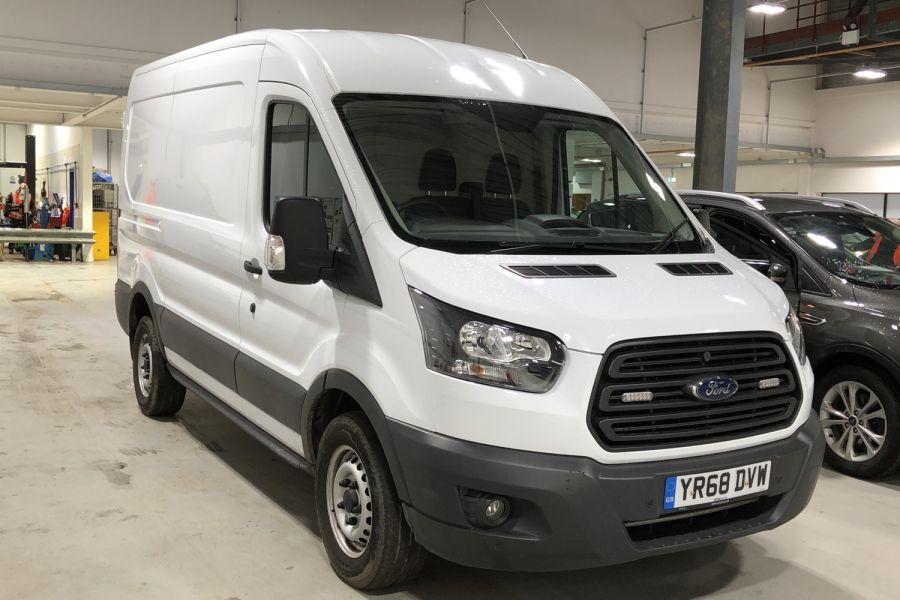 FORD TRANSIT 330 TDCI 105 L2H2 MWB MEDIUM ROOF FWD - 12268 - 1