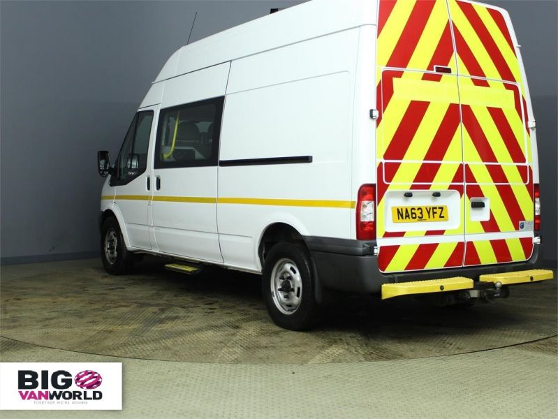 FORD TRANSIT 350 TDCI 100 LWB HIGH ROOF 7 SEAT MESSING UNIT - 7251 - 4