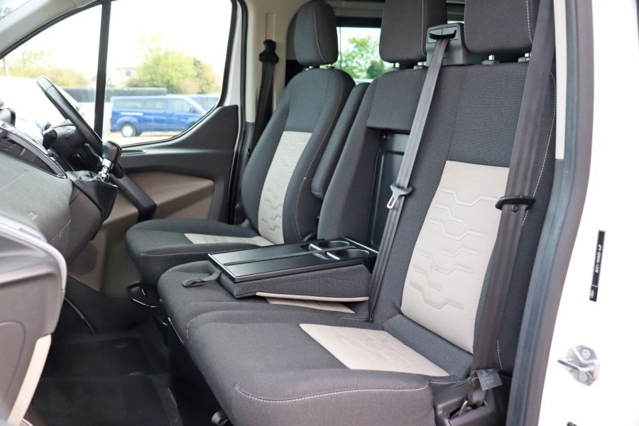 FORD TRANSIT CUSTOM 310 TDCI 130 L1H1 LIMITED DOUBLE CAB 6 SEAT CREW VAN SWB LOW ROOF FWD - 9964 - 31