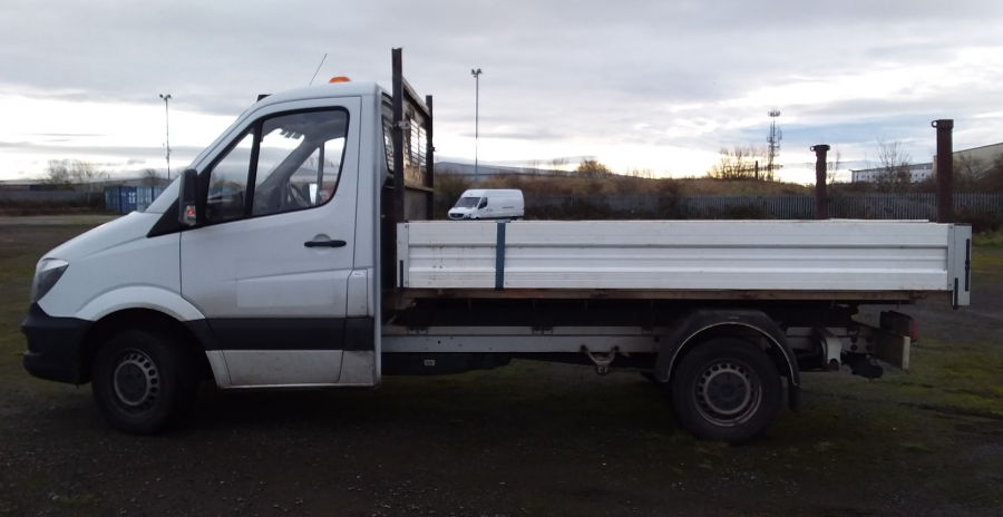 MERCEDES SPRINTER 314 CDI 140 MWB SINGLE CAB 'ONE STOP' ALLOY TIPPER  (13721) - 12170 - 6