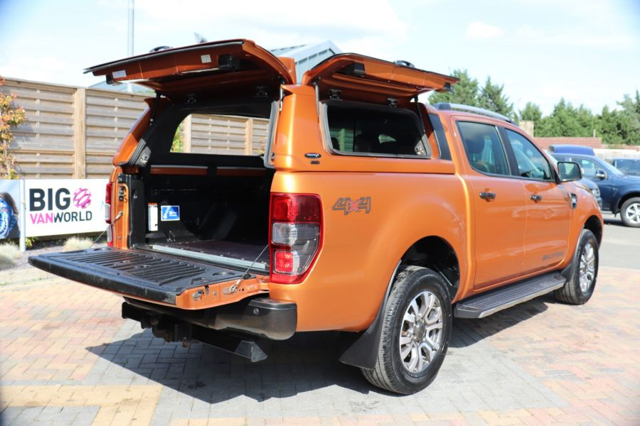 FORD RANGER WILDTRAK TDCI 200 4X4 DOUBLE CAB WITH TRUCKMAN TOP - 9538 - 42