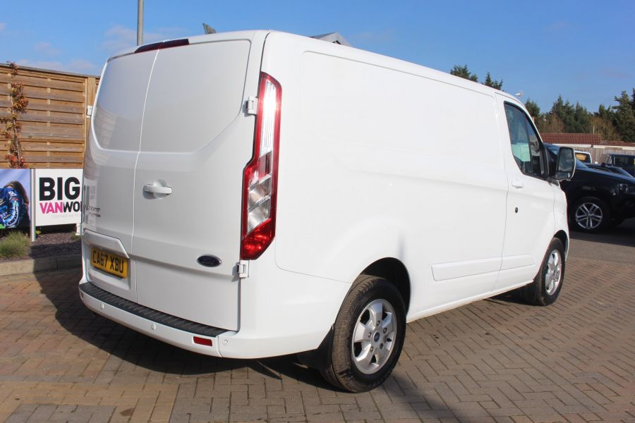 FORD TRANSIT CUSTOM 290 TDCI 170 L1 H1 LIMITED SWB LOW ROOF - 8843 - 5