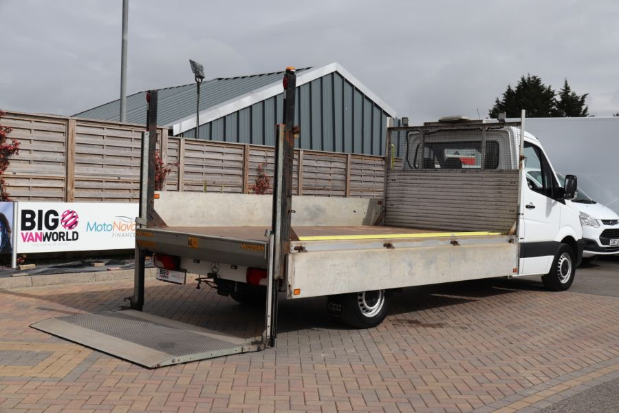 MERCEDES SPRINTER 314 CDI 140 LWB SINGLE CAB ALLOY DROPSIDE WITH TAIL LIFT  (14002) - 12361 - 37